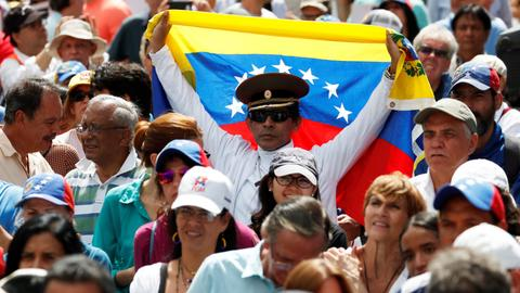 US calls to 'stand with freedom' as Venezuela rejects EU ultimatum