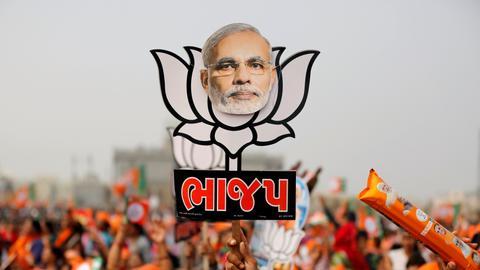 Indian politician jailed over Modi Facebook post