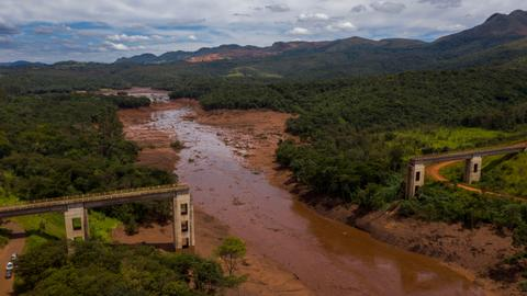 Brazil mining dam collapse hits indigenous water supply