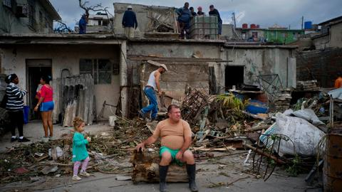 Strongest tornado in eight decades hits Cuba killing three and injuring 172