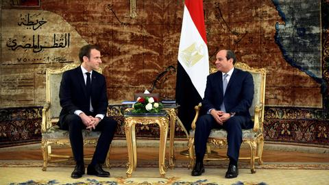 Sisi tells Macron that Egypt is not Europe