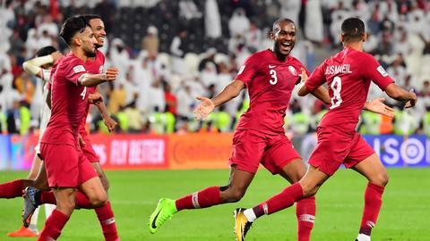 Qatar thrash UAE despite shoe, plastic bottle salvos by unruly fans