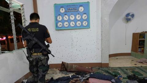 At least two killed in grenade attack at mosque in southern Philippines