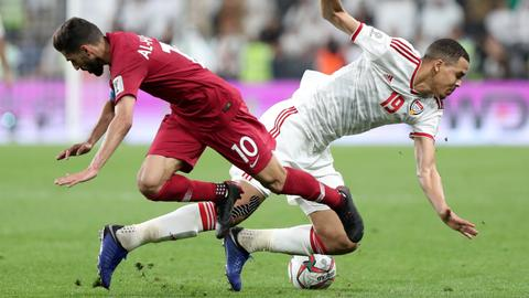 How the Emirati crowd turned against Qatari footballers