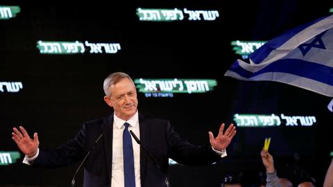 Benny Gantz: the military veteran who wants to replace Netanyahu