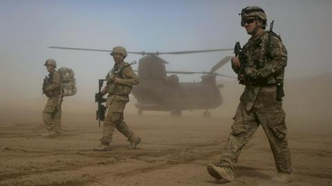 US deploying combat troops back to Saudi Arabia