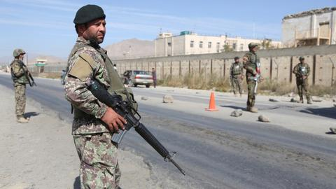 Attack on Afghanistan army checkpoint kills at least six troops