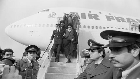 Forty Years of the Iranian Revolution: Ayatollah Khomeini returns to Iran