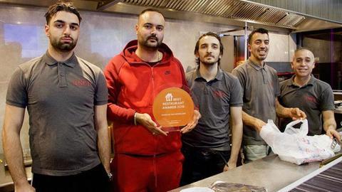 Turkish restaurant in Netherlands wins best of 2018 crown