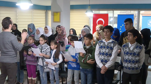 Turkish centre gives children a new start