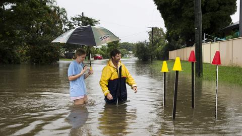 Part of eastern Australia hit by once-in-a-century floods