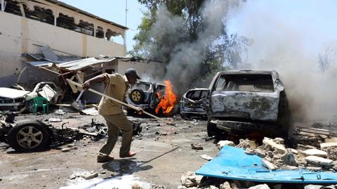 Suicide car bomb explosion in Somalia leaves casualties - police