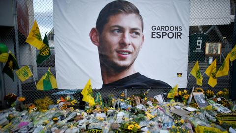 Missing plane carrying footballer Emiliano Sala found