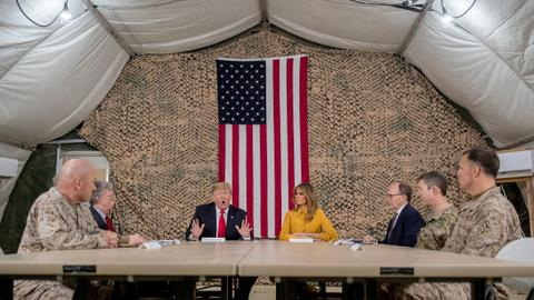 Is Trump's plan for US forces in Iraq a military move against Iran?