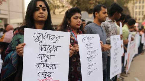 'Hercules' signs death warrants of alleged rapists in Bangladesh