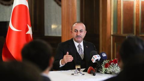 Work has accelerated on Manbij roadmap: Turkey's FM