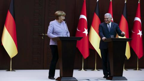 Yildirim asks Germany to step up efforts in the fight against FETO