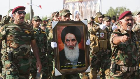 Grand Ayatollah Ali al Sistani's influence over Iraq