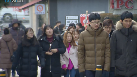 Frustrated young South Koreans struggling to find jobs