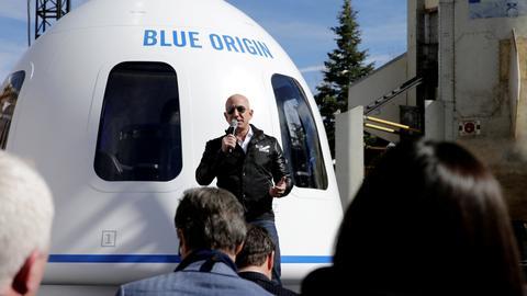 Bezos says Enquirer threatened to publish revealing photos