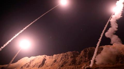 Sabre-rattling with missiles in the Middle East