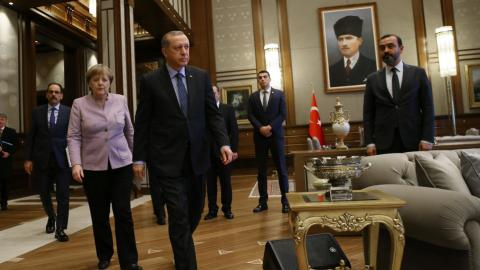 Merkel to increase support for Turkey in fight against terror