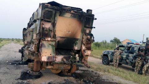 Boko Haram kills three troops in Nigeria base attack