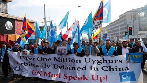Turkey calls on China to close Uighur detention camps