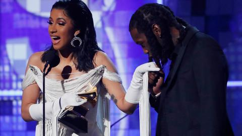 Childish Gambino wins big at Grammys, Cardi B wins best rap album