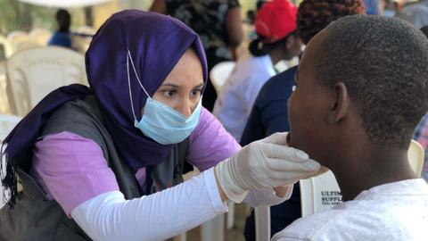 Turkish, Kenyan doctors team up at Kakuma refugee camps