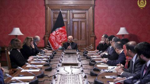 UN officials meet Afghan Taliban's chief negotiator in Qatar