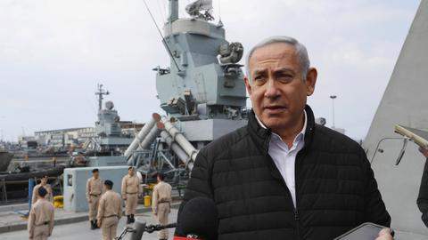Netanyahu confirms latest Israeli strike in Syria