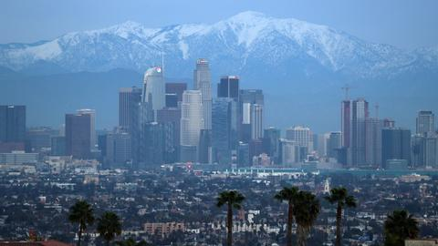 Pineapple Express storm douses California with rain, snow