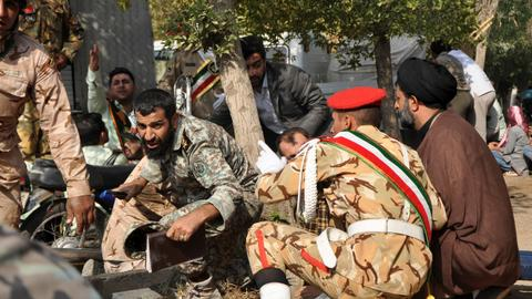 Suicide bombing kills at least 27 Revolutionary Guard personnel in Iran