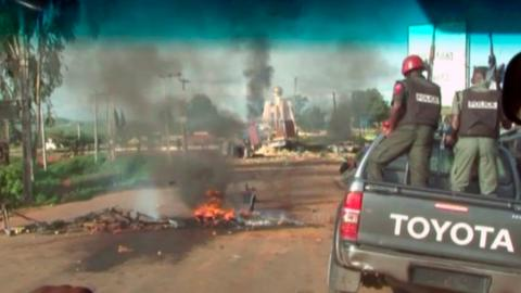 Militant attack targets Nigerian governor's convoy