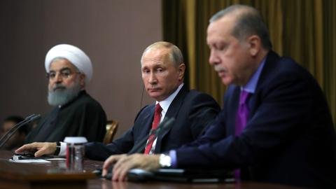 Russia, Turkey and Iran to hold Syria summit