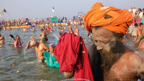 Split between Hindu godmen poses electoral threat to India's ruling BJP