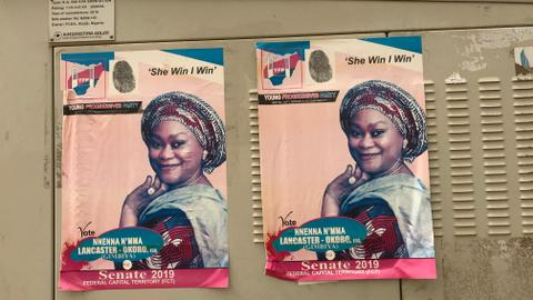 The battle to create more space for women in Nigeria's politics