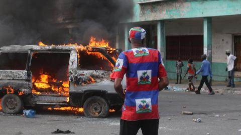 Haiti president breaks silence after week of violent unrest