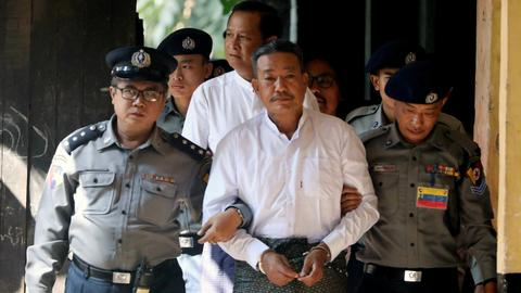 Myanmar court sentences two to death over lawyer's murder