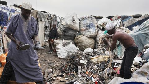 Nigeria has become an e-waste dumpsite for Europe, US and Asia