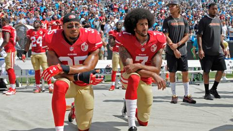Kneeling protester Kaepernick agrees to confidential NFL settlement