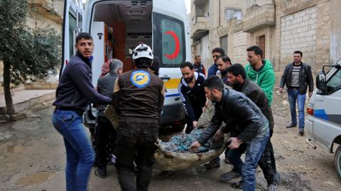 Regime shelling kills 18 civilians in northwest Syria – monitor