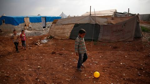 War took everything, Syria's displaced families say