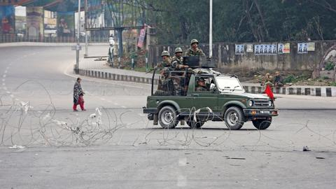 Communal tensions in India after attack in India-administered Kashmir