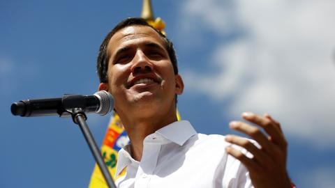 Guaido says nation ready for 'humanitarian avalanche'  – Venezuela crisis