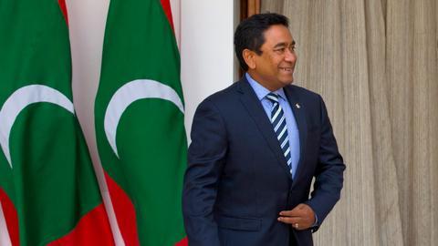 Maldives arrests ex-leader over alleged corruption