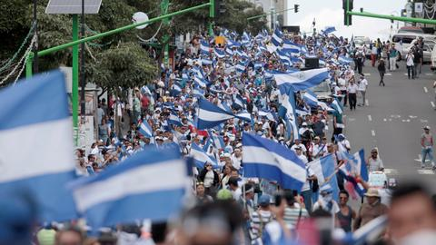 Nicaraguan opposition leaders sentenced to 200 years over protests