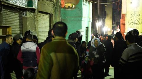 Cairo death toll in suicide blast now at three