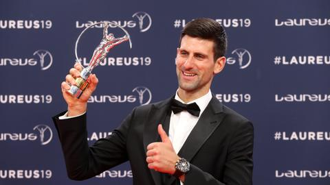 Woods, Djokovic, Vonn win Laureus World Sports Awards